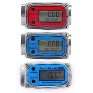 Digital Fuel Flow Meter Gasoline Methanol Water Flow Meter Counter Fuel Sensor Indicator New#1