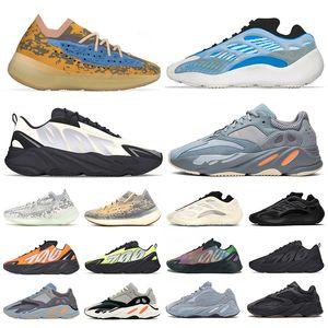 yeezy boost 700 v3 yezzy v2 380 kanye west wave runner Azul Running Shoes Magnet Vanta analog Para Hombre Mujer Static Malva Sólido Diseñador de lujo Zapatos Tamaño 36-45