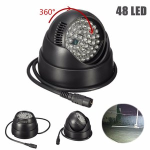 360 Degree Rotate 48 LED For IR Infrared Night Vision Assist LED Lamp For CCTV Surveillance Security Camera