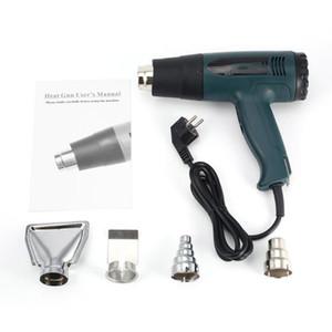 Pistola ad aria calda termostatica plastica Cannello da saldatore 1600W Electric Heat Gun saldatura della ripresa di fai da te attrezzo di calore aria calda Blower