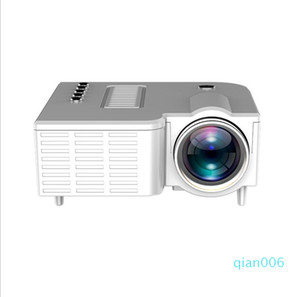 UC28C Mini LED Projector 320x180 Pixels Supports 1920x1080P HDMI USB Audio Portable Projector Home Media Video Player