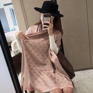 2020 GG양모 양면 자카드스카프는 하이 엔드에서 잘 판매 고급 패션 여성 숄 스카프