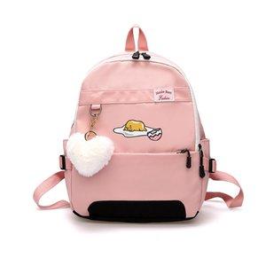 donne anime bambini uova pigre Scuola Bagpack per Teenage moda Gudetama studenti tracolla viaggiano carino girlsX0923 zaino