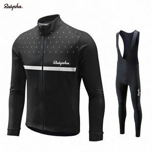 Ralvpha Maillot cyclisme 2019 Printemps / Automne Cyclisme Vêtements Ropa Ciclismo respirante Hommes Maillots PRO TEAM FORMATION JERSEY LU4o # de