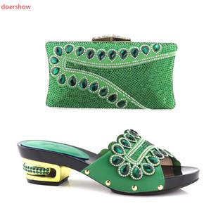 Düğün için Ayakkabı ve Çanta Eşleştirme Moda İtalyan Eşleştirme Ayakkabı ve Çanta Seti Afrika Düğün Ayakkabı ve Çanta Setleri