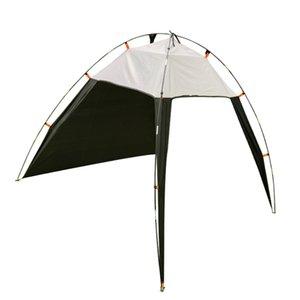5-8 Person Pergola Windproof Outdoor Tent Summer UV Tarp Sun Shade Camping Fishing Triangle Beach Cabana Tent Canopy Portable