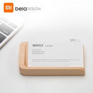 Xiaomi youpin Beladesign Business Desktop Card Holder Display Stand Distributeur Card Support à bureau Organisateur bureau