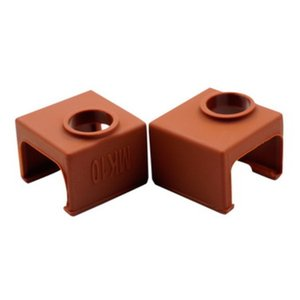 par ou ems de dhl MK10 silicone Sock brun au lieu céramique Isolation SILICONE CHAUFFE BLOC DE COUVERTURE