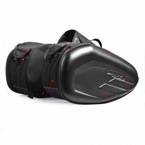 58L moto Saddlebags arrière SELLE bagages de grande capacité multi-utilisation Cadre Extensible Body Sac de réservoir Zt6B # Saddlebags