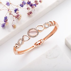 Watch Gifts Europe American Creative Fashion Set Diamond Opal Bracelet Simple Accessories Ins Trend Exquisite Elegant Bracelet Gifts For Gir