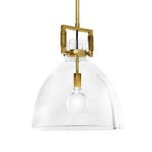 Oro / Nero E27 Semplice LED Penant chiara luce di vetro Nordic creativa Hanging Lamp Per bedroom bedside Ristorante Bar Coffee Shop