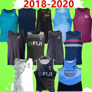 chaleco de Rugby 2018 2020 Liga de rugby camiseta de rugby Irlanda Australia Fiji Francia montañeses huracán Lanholton azules Maru Todos los hombres negros