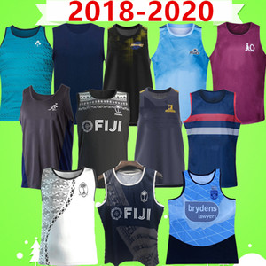 2018 2020 Rugby League Jersey Rugby Ireland Australia فرنسا Fiji Highlanders إعصار Lanholton Blues Maru جميع أسود الرجال سترة الركبي