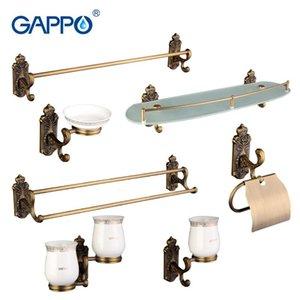 Spazzolino da denti Shelf Imposta Sapone Gappo Holderglass Bagno Accessoriesg36t7 Gappo 7pc Hardware Bagno Dishpaper Set Bardouble Holdertowel vrCTw