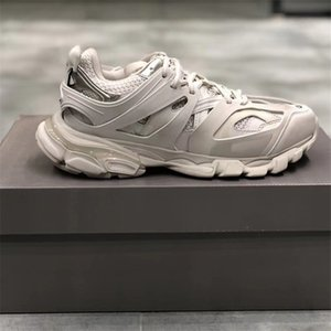 Paires piste formateurs Sneakers à vendre Version 3.0 Tess S Triple S Sneakers Hommes Baskets femme Baskets papa Chaussures Casual avec sac à poussière