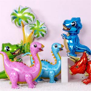 1pcs dinosaur balloons foil Balloon 4D animals dinosaur ballon birthday party decoration baby shower boy kids toy helium globols