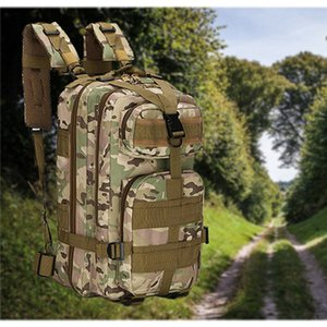 Men Women Tactical Backpack Military Army Outdoor Combat Trekking Camping Hiking Sports Molle Pack Climbing Rucksack Bags 25L
