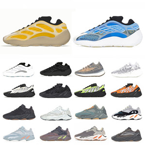 Adidas Boost 380 Blue Oat Reflective Kanye West 700 men women Running shoes V3 Mist Azael Alvah Phosphor wave runner 700s 380s Outdoor sports designer sneakers