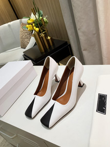 Heel 7.5cm Dress Shoes Small Leather Shoes Women Top Ladies Dress Shoes High Heel 7.5cm 4.5cm High Quality Real Leather