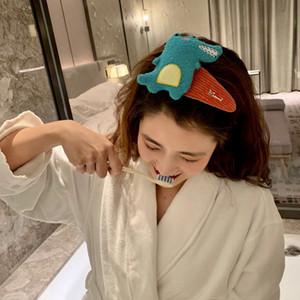 Dinosaur volto di lavaggio Fronte clip di BB Cute Girl con frange laterali sfalsate ragazza della clip tornante Baby Animal Frutta Tornante Accessori per capelli