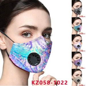 Cotton face mask adult fashion reusable face masks Adjustable ear buckle mask soft breathable anti dust fog mouth masks breathing valve mask