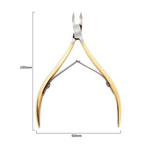 Unha unha toenail cutícula pinça aparar aço inoxidável cortador de cortador de cortador de tules tesoura manicure ferramenta toenail cuticle nipper