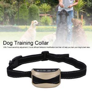 WACO Dog Bark Deterrent, USB Charging Rechargeable Anti-Barking Collar, Dog Barking Control Devices Dog Trainer Barking Detection