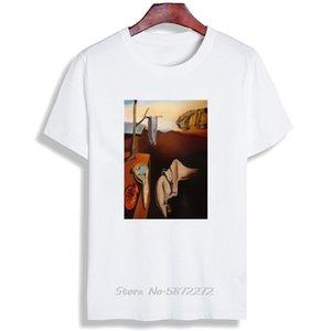 Skipoem T-shirt drôle Salvador Dali Art Surreal Coton O Neck T-shirt à manches courtes Taille Plus Marque T-shirt T-shirts Tops
