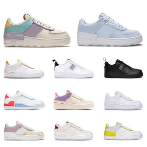 Air force 1 af1 forces airforce one n354 type  qualità per uomo donna sneakers moda shadow triple white Pastel Pale Ivory scarpe da ginnastica da uomo casual scarpa da tennis