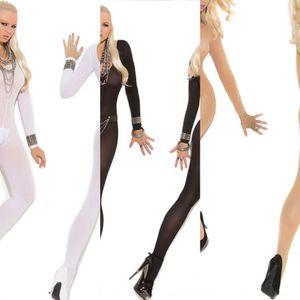 cJjgn tuta adulta sexy trasparente pigiami open-gamma pigiami di seta calze di seta calze sexy