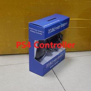 PS4 için ŞOK 4 Kablosuz Kumanda Konsolu Gamepad Hızlı Perakende paket LOGO Oyun Kontrolörü DHL Kargo ile İstasyon 4 Joystick Çal