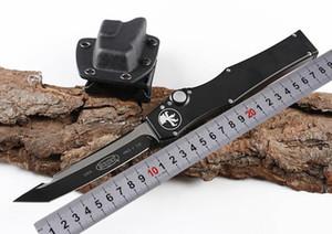 """Heiße Verkaufs-Schwarz-Microtech Halo 5 V Tanto Messer 4.6"""" 150-1 Blatt D2 Tanto Rand im Freienüberlebens taktisches Überlebens-Messer UTX70 A16 Halo v"""
