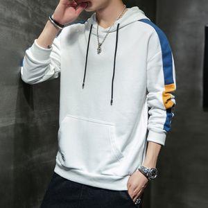 IiOCC Erkek kapşonlu bahar yeni ve sonbahar kazak gömlek Kore ince taban 2020 Coat kapşonlu külotlar öğrenci moda erkek ceket külotunu