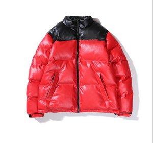 편지 윈드 코트 스포츠 코트 지퍼와 남성 다운 자켓 따뜻한 겨울 가죽 자켓 의류 M-XL 탑.