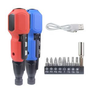Screwdriver Set Electric Cordless Screw Driver Bits Set 3.6V 900mah Lithium Battery USB Charging 2N.m Torque Power Tools