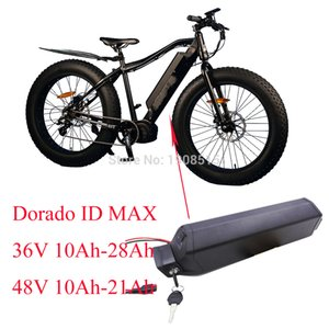 Top quality 48volt 21Ah sanyo GA battery pack 48V 20Ah Reention Dorado ID MAX ebike with 54.6V charger