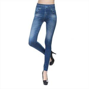 Moda Skinny pantolonlar Denim Jeans Stretchy İnce Leggins YENİ Seksi Kadınlar Skinny Tozluklar Kadın Legins KH909195