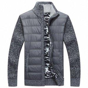 NAMTHEUN 2020 Winter-Männer Wollmantel Wolle Strickjacke Muskel Fit gestrickte Jacken Modische Male Kleidung für Herbst plus Größe Mantel Yoco #