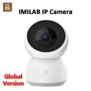 مراقب (النسخة العالمية) Youpin IMILAB IP كاميرا 1296P 2K FHD الذكية كاميرا واي فاي كاميرا اللون كاميرا للرؤية الليلية الأمن الطفل