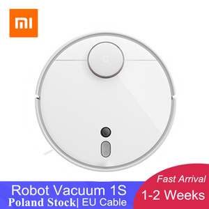 Euro Stock Tax Free XIAOMI Mi Robot Vacuum Cleaner 1S for Home Automatic Sweep Planned Cleaning WIFI App Control LDS&Camera Navigation