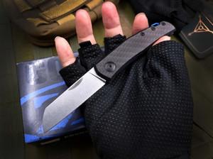 YENİ ZT Sıfır Tolerans zt0230 0230 d2 bıçak karbon fiber avcılık kamp bıçak şimdi hediye bıçak Katlanabilir bıçak a3073
