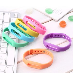 Reemplazo cgjxsColorful pulsera de silicona banda reloj de pulsera de la correa de muñeca de la correa Protective del caso para Xiaomi Mi Banda SmartBand Miband