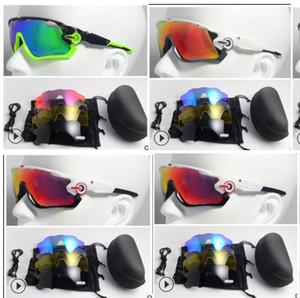 Atacado-óculos de sol com lentes polarizadas 5 Jawbreaker óculos de sol para as Mulheres Homens Esporte Ciclismo Óculos de bicicleta executando Mens Sunglasses
