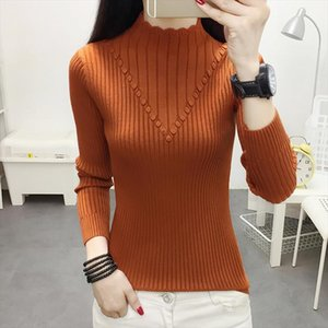 Turtleneck Sweater Women Pull Femme Nouveaute 2019 New Knitted Female Sweater Fall Pullover Winter Clothes Womens Jumpers Mujer