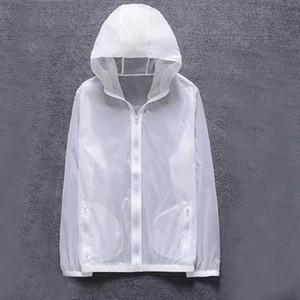 Litthing Homens New Verão Anti UV pele Jacket Outdoor Quick Dry Sun Protective revestimento encapuçado Ciclismo Viagem Windbreaker 2019 SIuk #