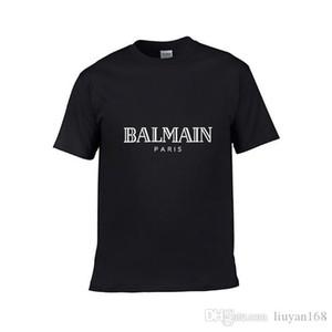 ManicaBalman T-Shrits cotone T-shirt da Uomo Coccer palla Sport Fashion Casual Wear Tee progettista del mens nuotare pantaloncini Givency