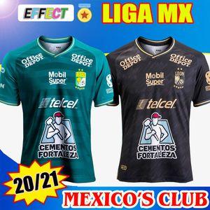 2020 2021 Club Leon Soccer Jersey 20/21 Liga MX Leon Casa Abito Camicie da calcio Camisetas de Futebol Leon Jersey Tailandia Kit uniforme