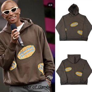 Brown Hoodie Men Women 1 Best-quality embroidery Pullover Hoodies