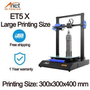 Anet ET4 / ET5X kit imprimante 3D impressora 3D Full Metal Drucker Mean Well Puissance Avec 10M PLA Filament