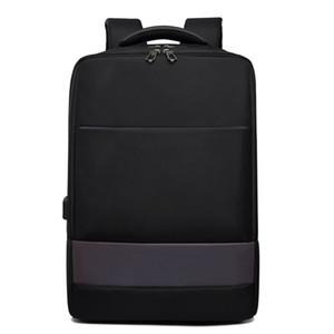 2020 New Business Laptop-Rucksack-Spielraum Wasserdichte Mens Rucksack USB-Lade Reflective Rucksack Fabrik Customization